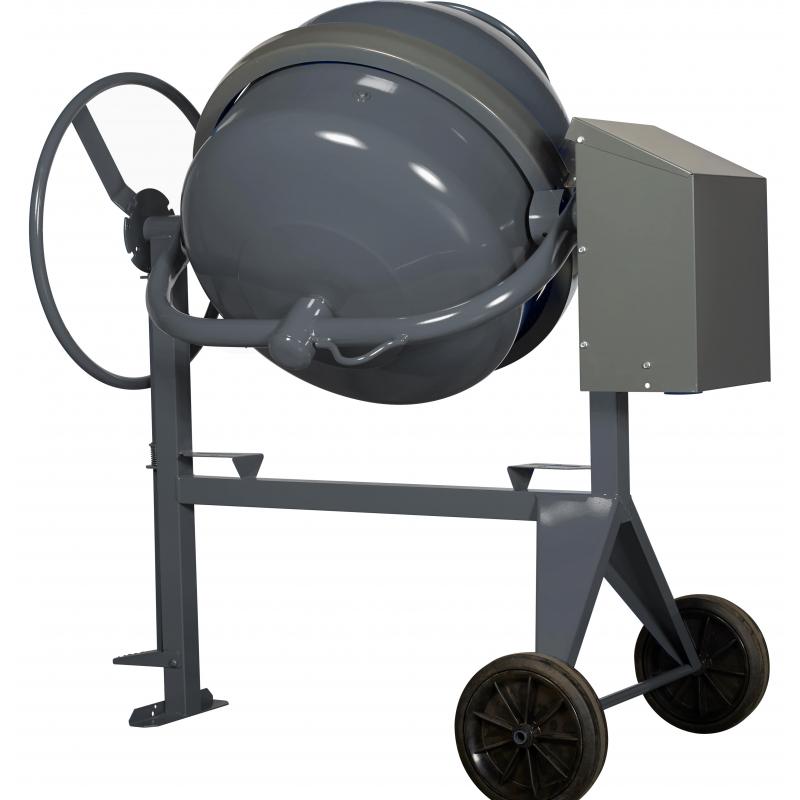 Bétonnière SEMI-PRO Electrique - Cuve 145 litres