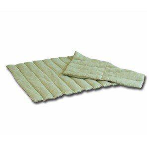 Mille Oreillers Bouillotte rouleau en lin graines de lin 42x75cm
