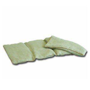 Mille Oreillers Bouillotte des kinés en lin graines de lin 24x50 cm