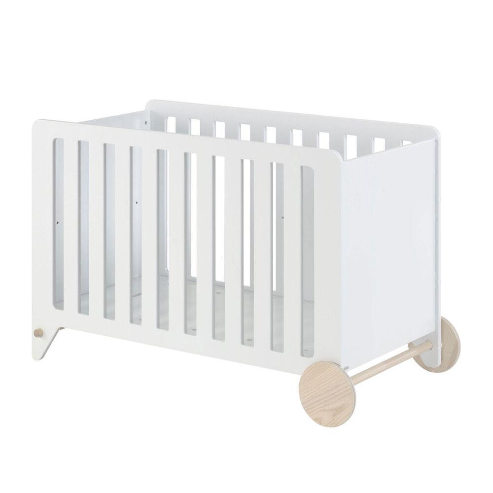 Kave Home Nunila - Lit bébé en bois 60x120cm