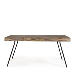 Suri - Table à manger en teck recyclé 220x90cm - Publicité