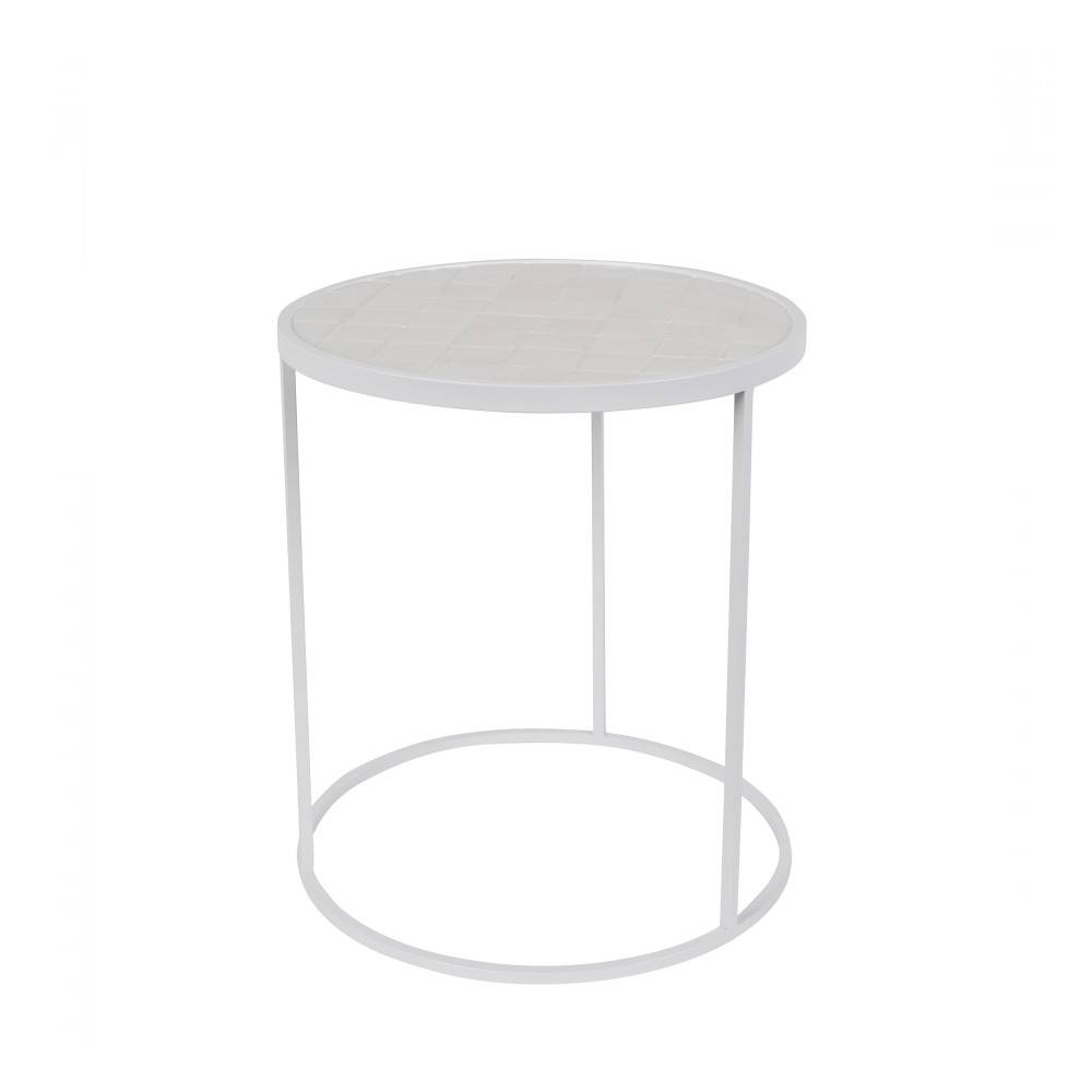 Zuiver Glazed - Table d'appoint ronde ø40cm
