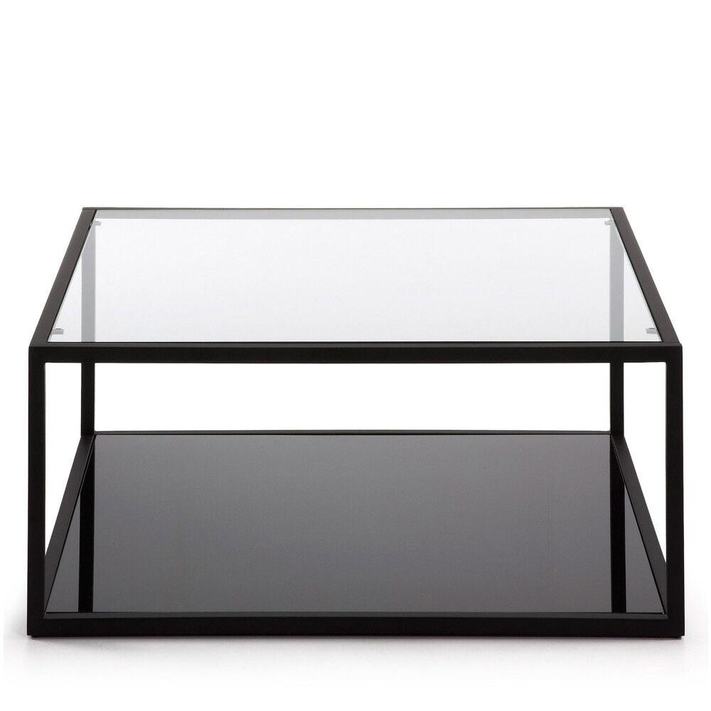 Blackhill - Table basse carrée en métal