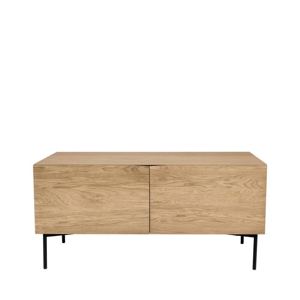 Woodman Flop - Buffet design 2 portes 4 niches