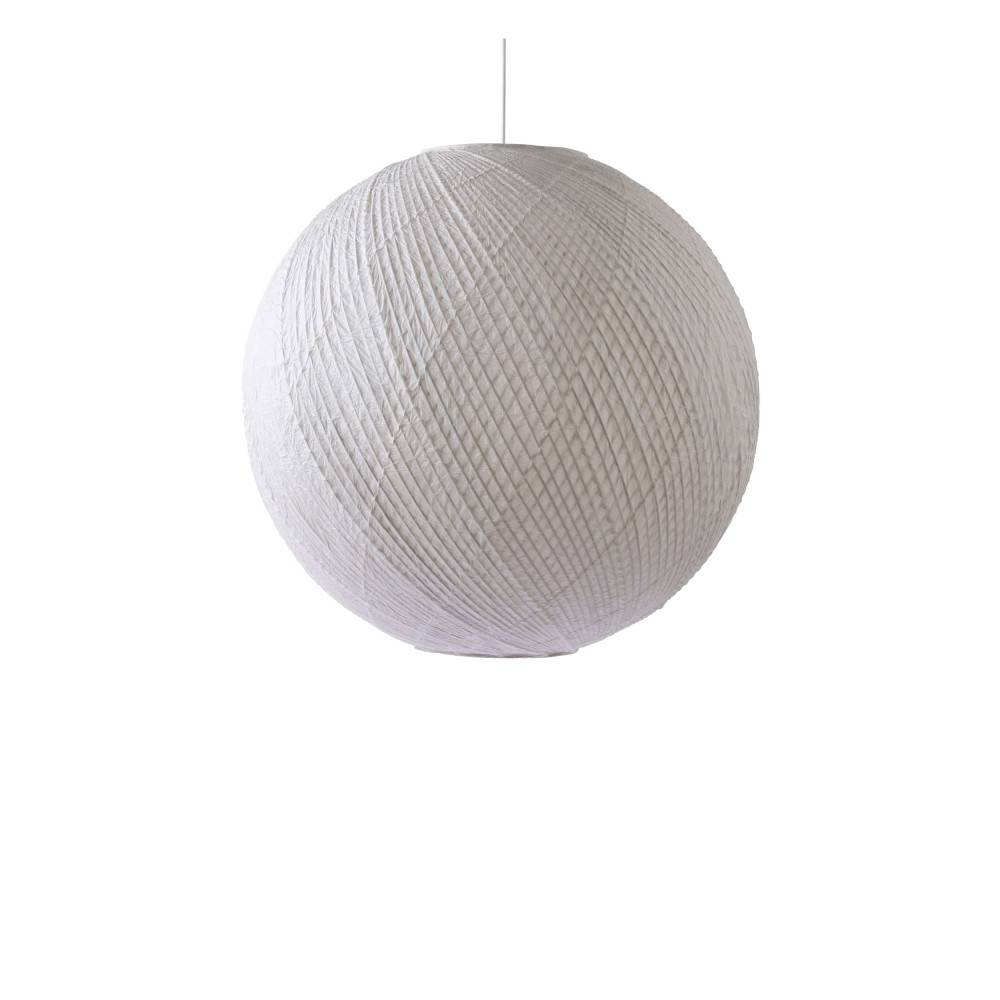 HKliving Hevesk - Suspension boule en bambou et papier