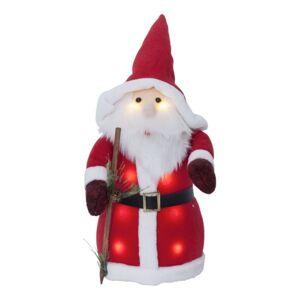 STAR Père Noël décoratif lumineux de 38 cm à piles - Publicité