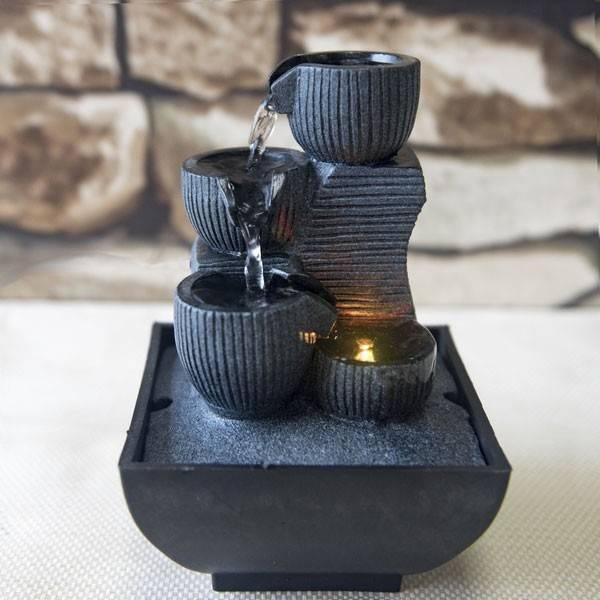 Zen Light Fontaine lumineuse d'interieur  KINI