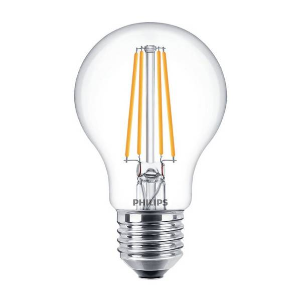 Philips Ampoule LED E27 7W 806 Lumens Eq 60W (Température de Couleur : Blanc chaud 2700K)
