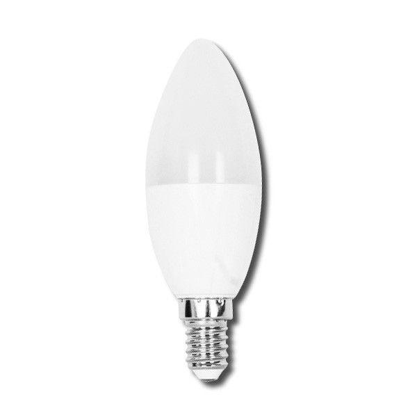 AGS Ampoule LED C37 E14 6W (Température de Couleur : Blanc froid 6400K)