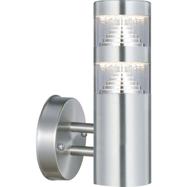 AREV Applique montante CASTELLANE inox LED 900 Lumens