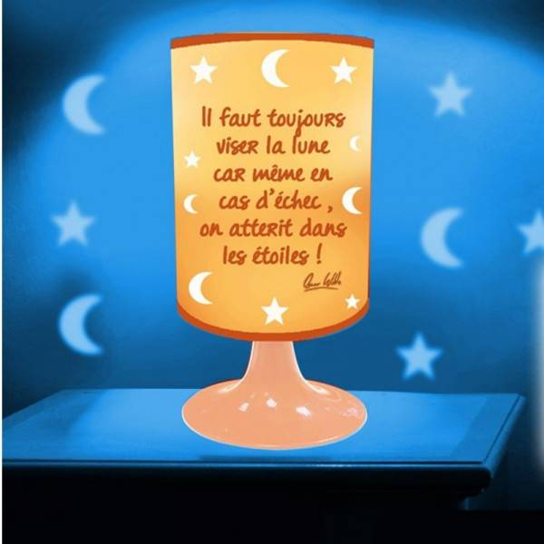 STC Lampe Projection - Il Faut Toujours Viser