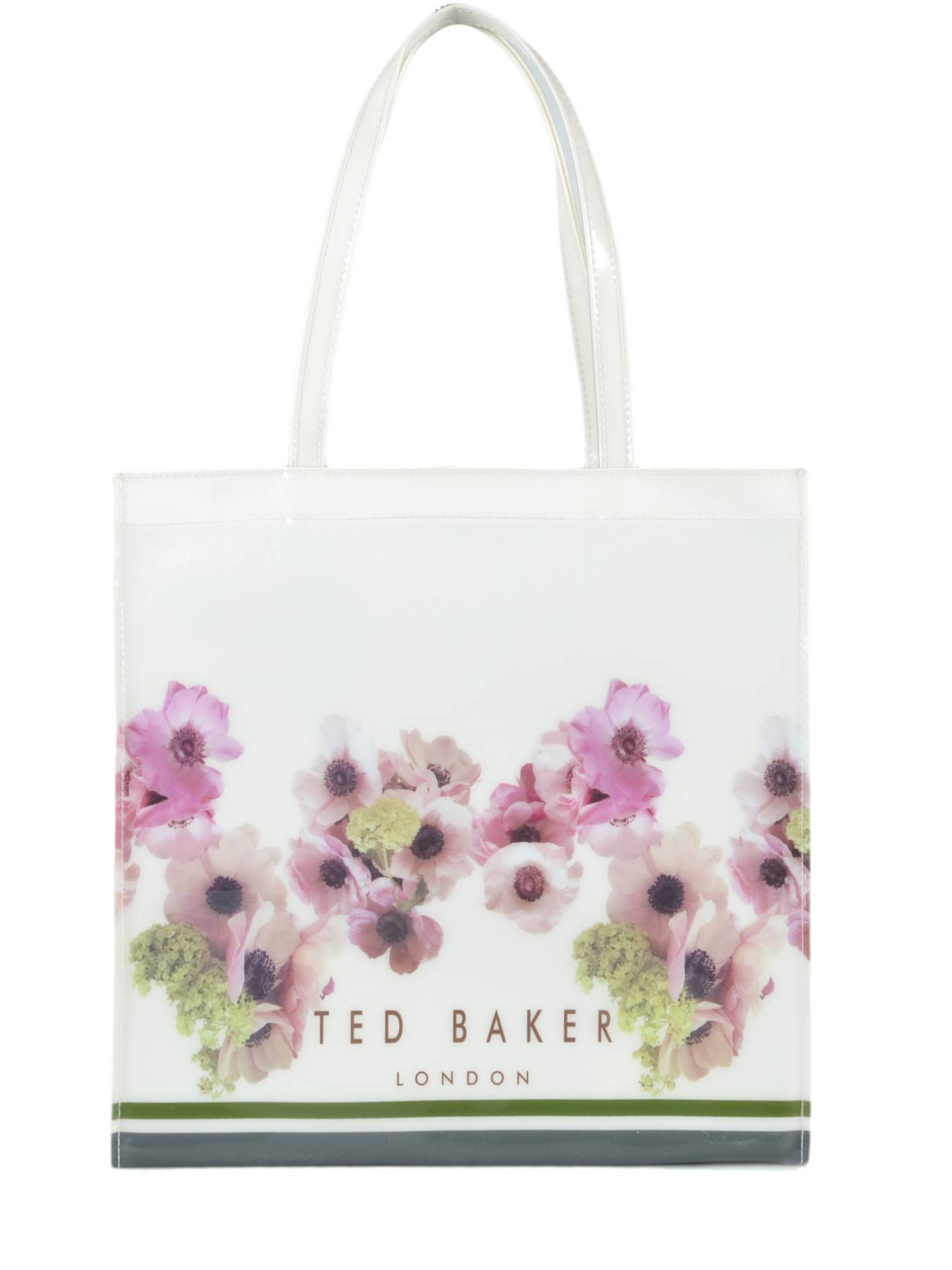 TED BAKER Sac Cabas Iconic Flower Ted Baker Blanc
