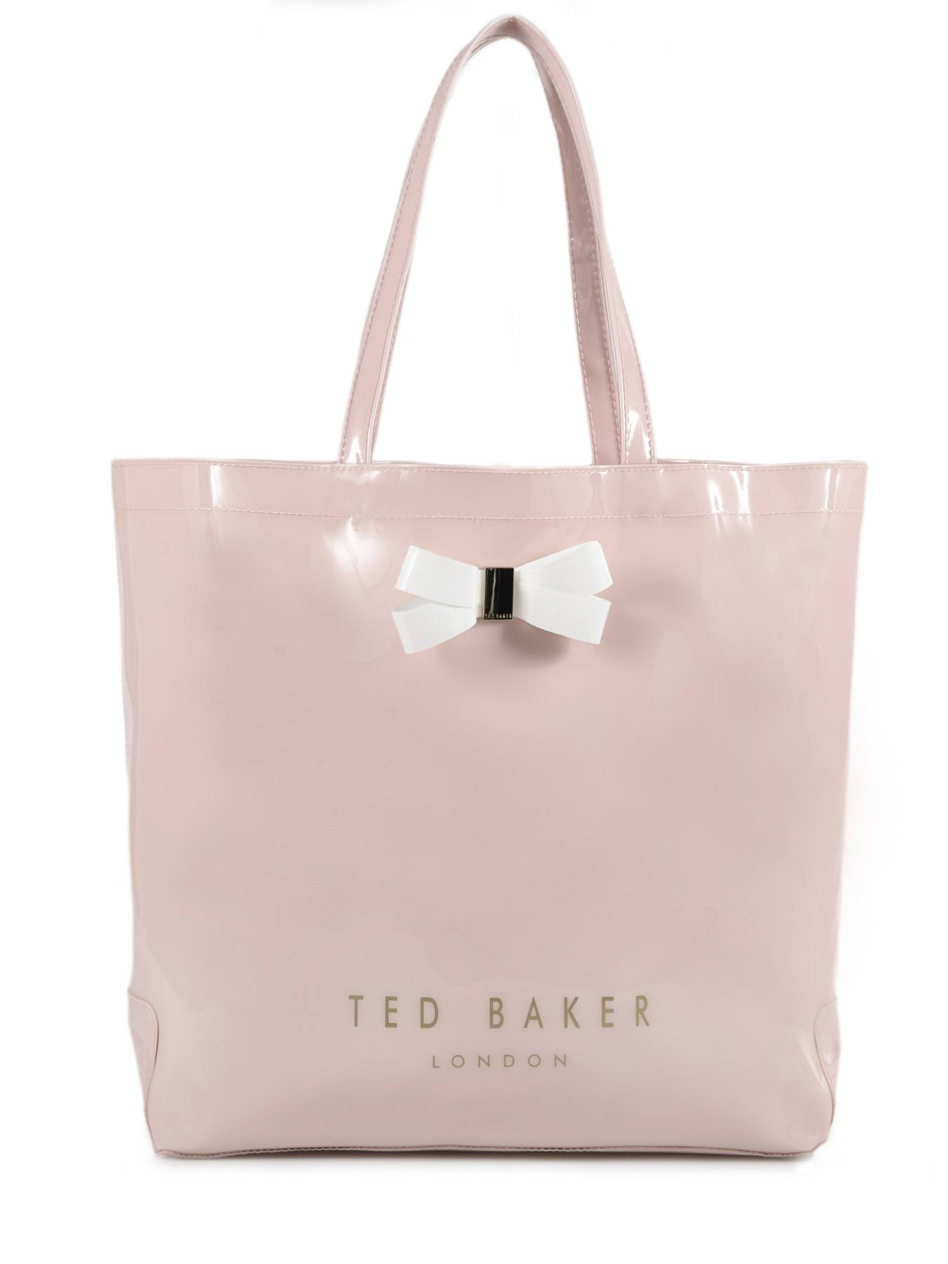 TED BAKER Sac Cabas L Bow Detail Ted Baker Marron