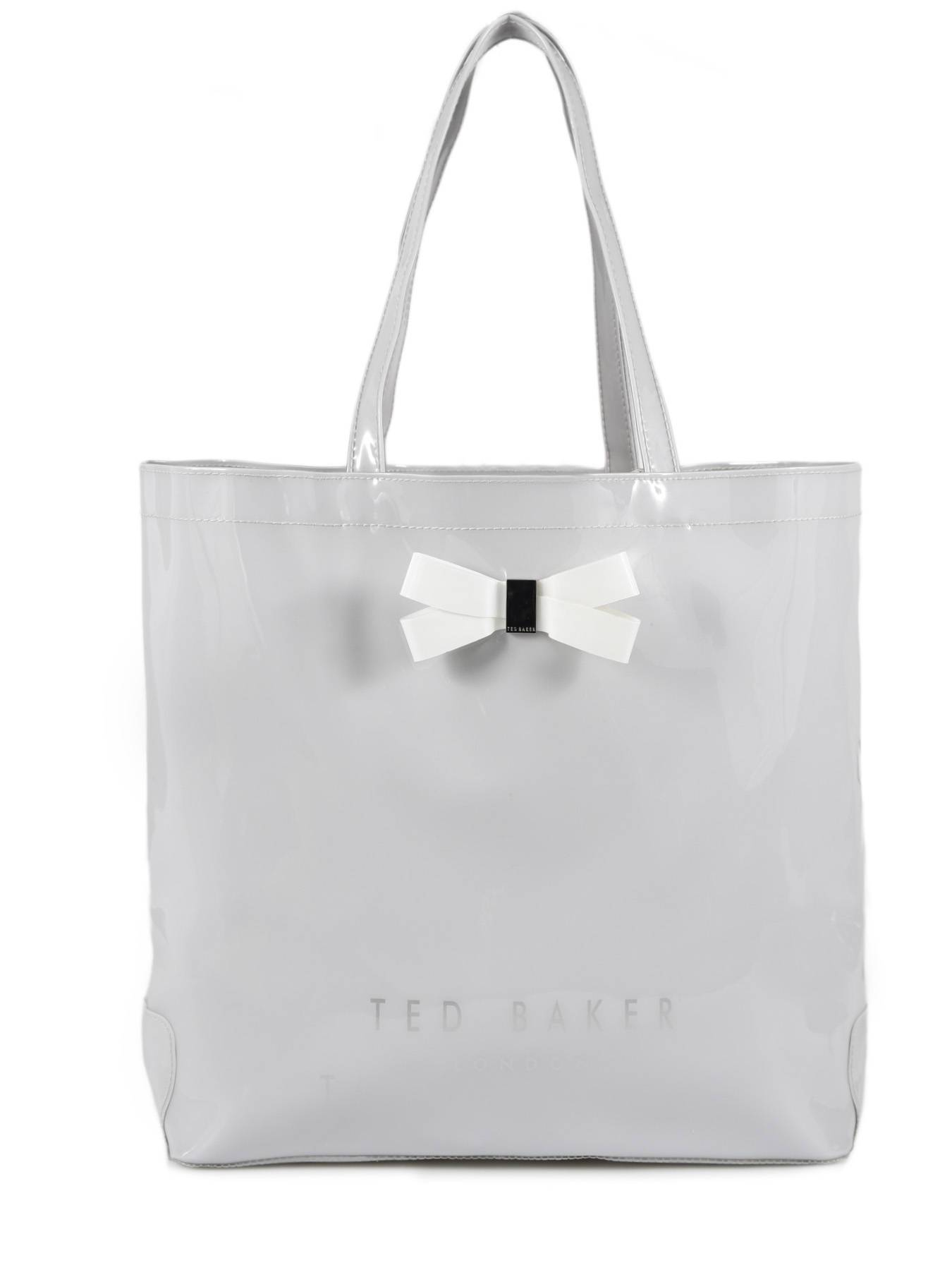 TED BAKER Sac Cabas L Bow Detail Ted Baker Gris