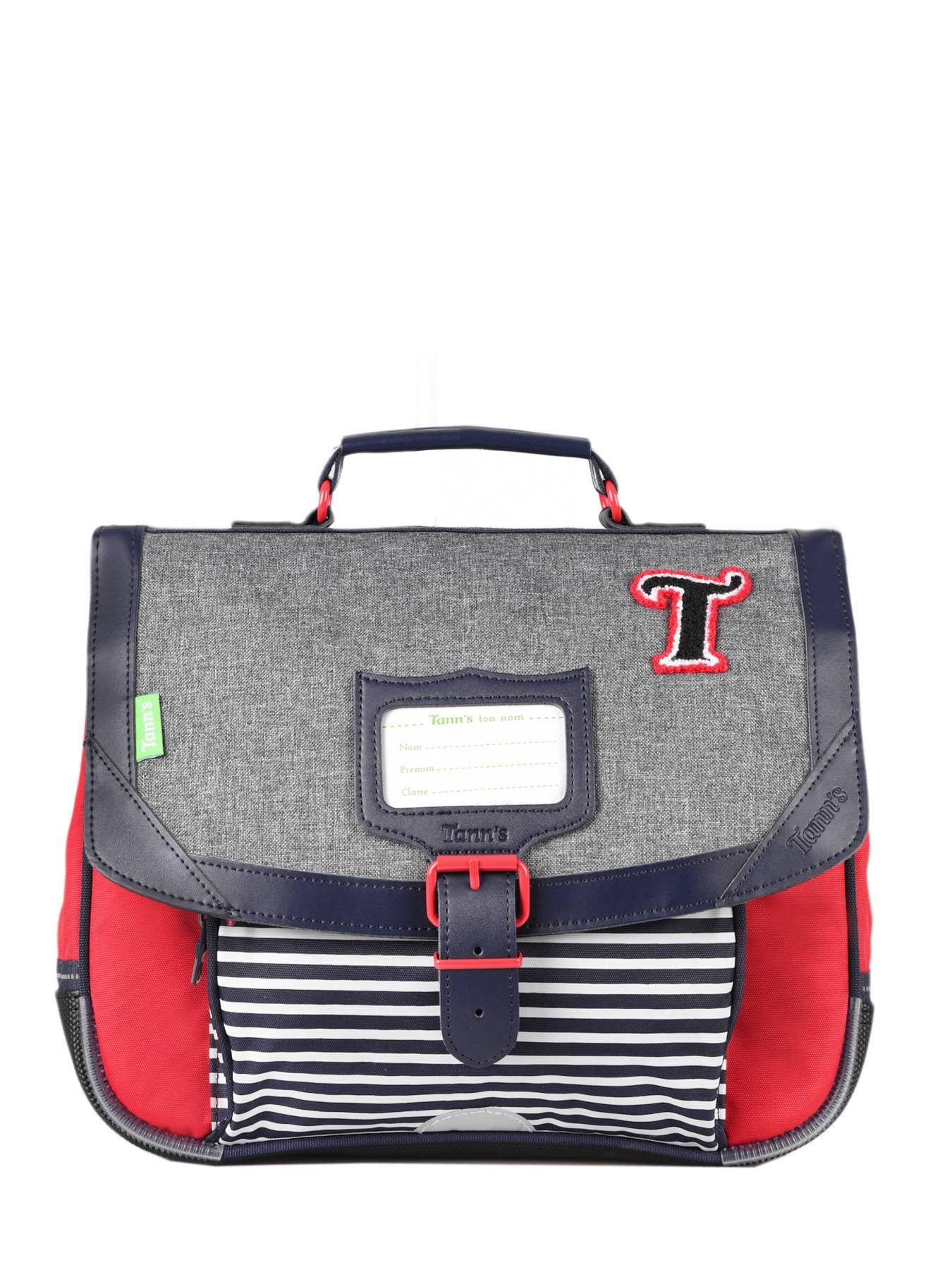 TANN'S Cartable 1 Compartiment Tann's Multicolore