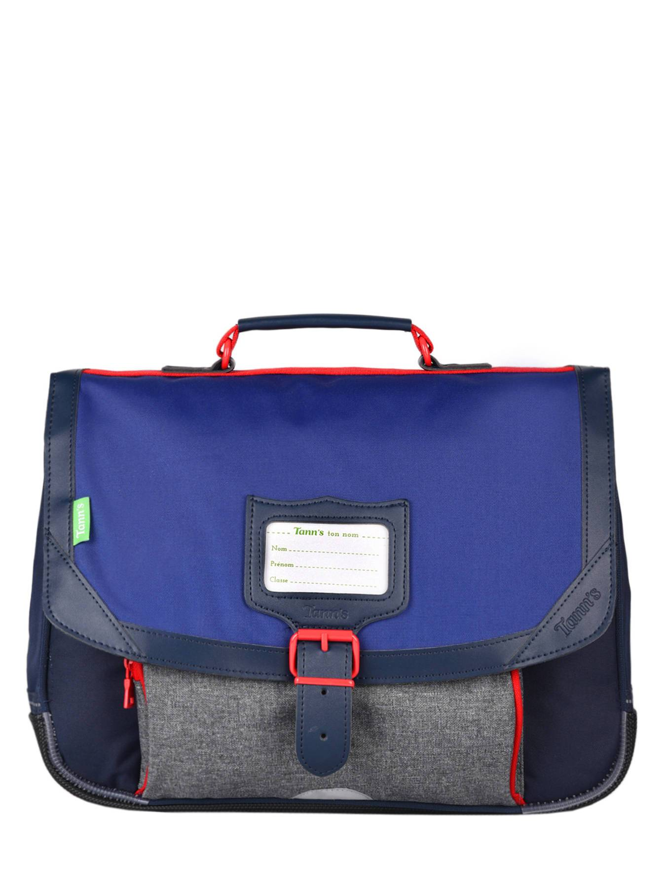 TANN'S Cartable 1 Compartiment Tann's Bleu