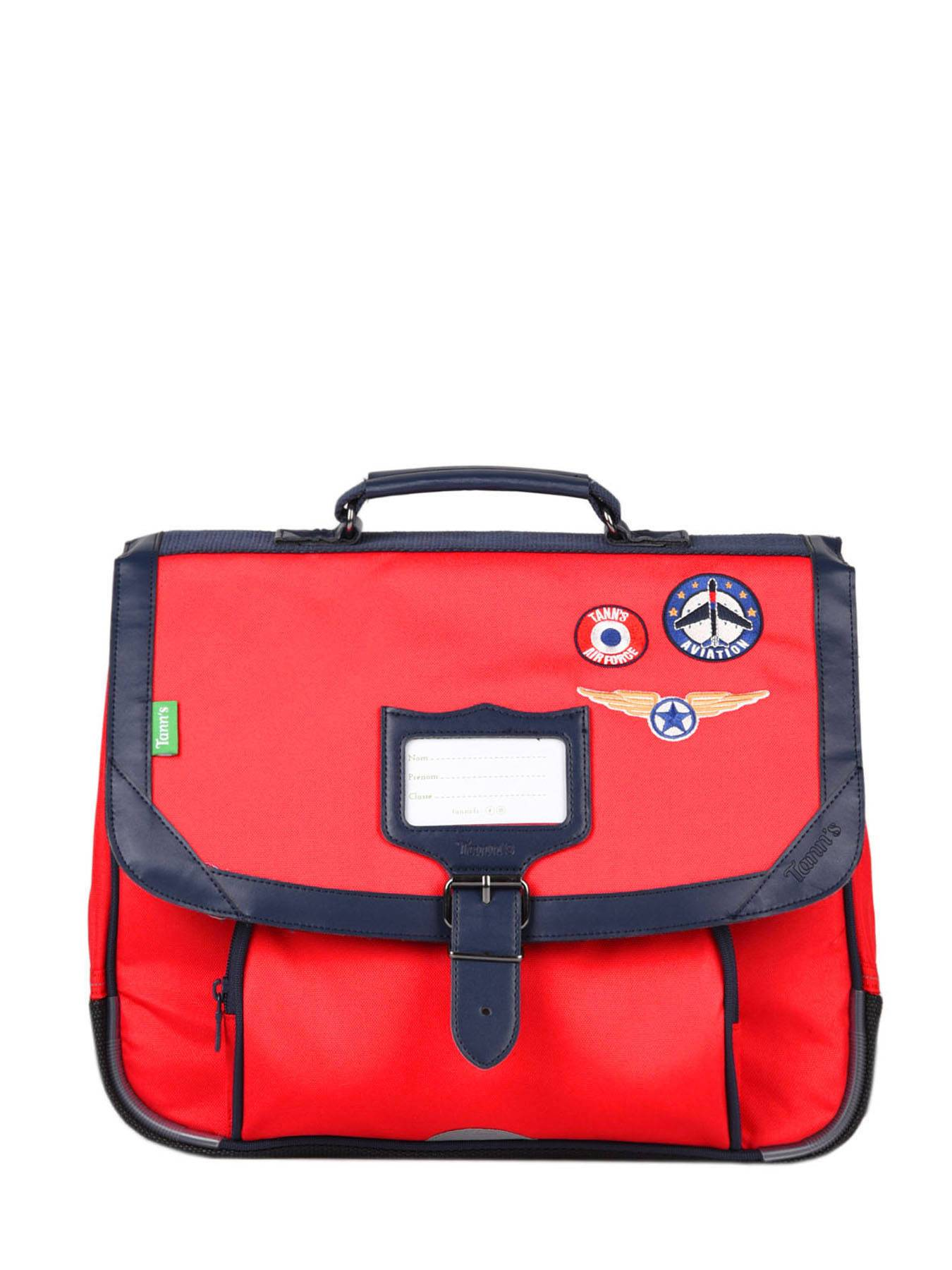 TANN'S Cartable 1 Compartiment Tann's Rouge