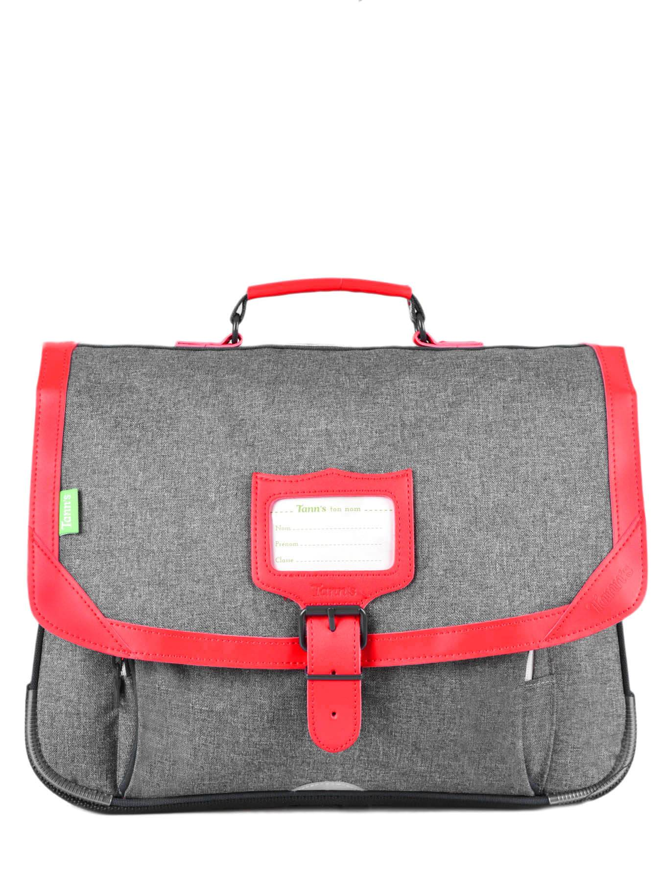 TANN'S Cartable 2 Compartiments Tann's Gris