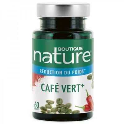 Boutique Nature Graine de café vert, 60 gélules
