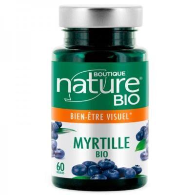 Boutique Nature Myrtille bio, 60 gélules