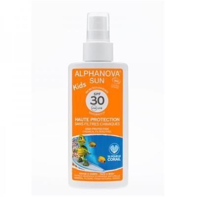 Alphanova Spray solaire kids enfants bio SPF 50 - 125 gr
