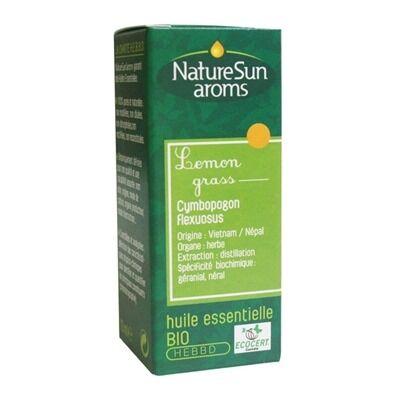 Nature Sun Aroms Huile essentielle de lemon grass bio, 10 ml
