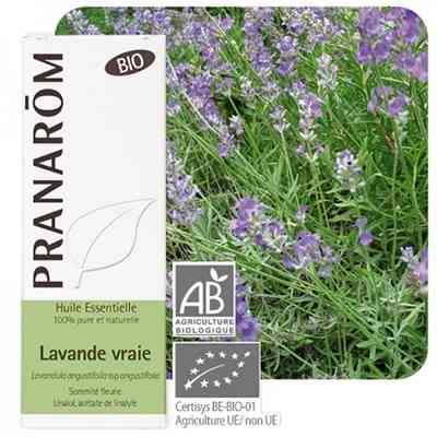 Pranarom Lavande vraie bio huile essentielle, 10 ml