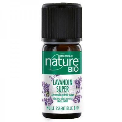 Boutique Nature Huile essentielle de lavandin super bio, 10 ml
