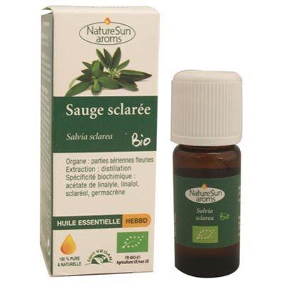 Nature Sun Aroms Huile essentielle de sauge sclarée bio, 10 ml