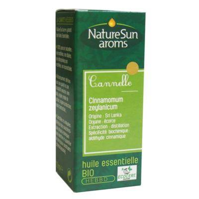 Nature Sun Aroms Huile essentielle de cannelle bio, 10 ml