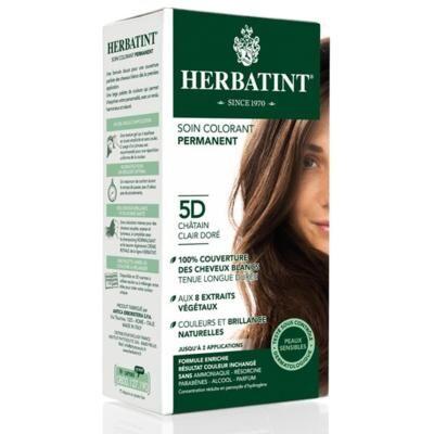 Herbatint Coloration châtain clair doré 5D - 150 ml