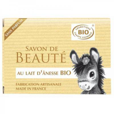 Nature Progres - Cosmo Naturel Savon au lait d'ânesse bio beurre de karité