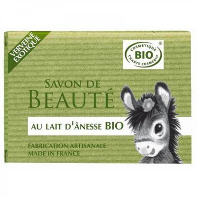 Nature Progres - Cosmo Naturel Savon au lait d'ânesse bio verveine exotique