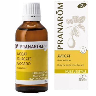 Pranarom Huile végétale d'avocat bio, 50 ml
