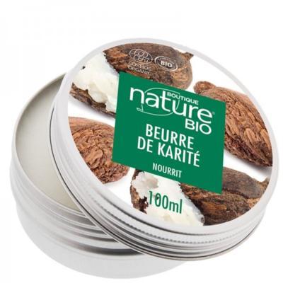 Boutique Nature Beurre de karité bio, pot 100 ml