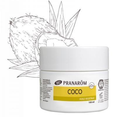 Pranarom Coco bio huile végétale, pot 100 ml
