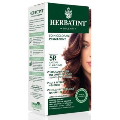 Herbatint Coloration cheveux châtain clair cuivré 5R - 150 ml