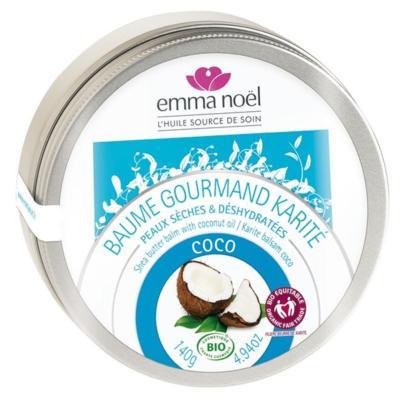 Emma noël karité à l'huile de coco bio, 140 grammes