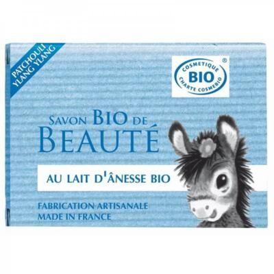 Nature Progres - Cosmo Naturel Savon au lait d'ânesse bio patchouli, 100 gr
