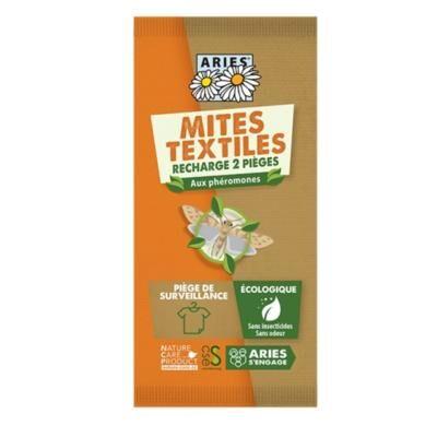 Aries Pièges à mites textiles, 2 recharges