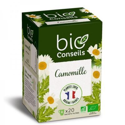 Bio Conseils Infusion bio Camomille, 20 sachets