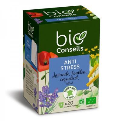 Bio Conseils Infusion bio Anti stress, 20 sachets