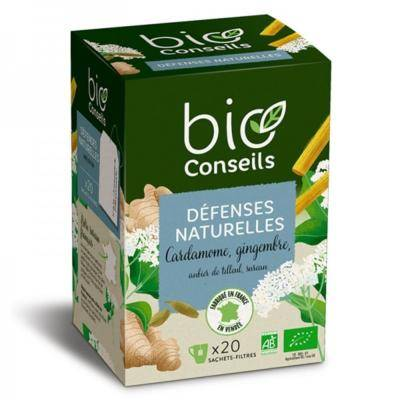 Bio Conseils Infusion bio Défenses naturelles, 20 sachets