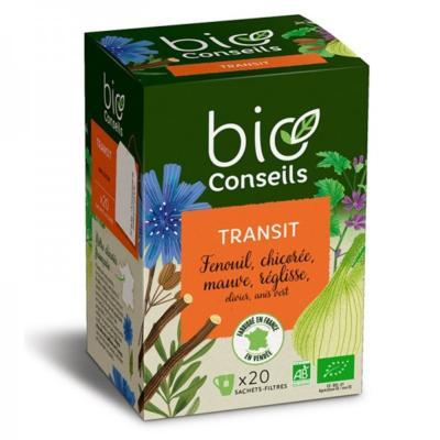 Bio Conseils Infusion bio Transit, 20 sachets