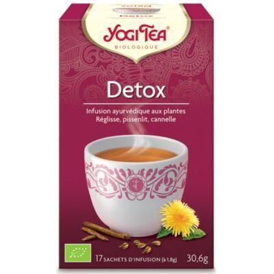 Yogi Tea bio Détox, 17 sachets