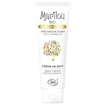 Marilou Bio Crème de nuit à l'huile d'argan bio, 50 ml