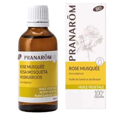 Pranarom Huile végétale de rose musquée bio, 50 ml