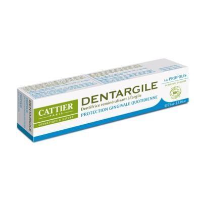 Cattier Paris Dentifrice Dentargile propolis bio et argile, 75 ml