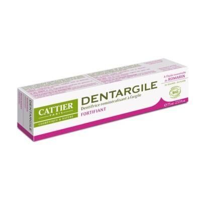 Cattier Paris Dentifrice dentargile romarin bio et argile, 75 ml