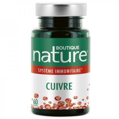 Boutique Nature Cuivre, 60 gélules